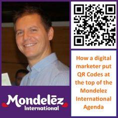 How Paolo Ramazzotti used #QRCodes to help Mondelez International
