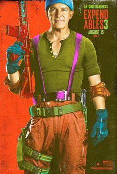 'Los mercenarios 3': nuevos posters de la Comic-Con - Álbum de fotos - SensaCine.com