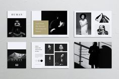 Minimalist template for designers working on fashion, interior design catalogues, product catalogues, product/graphic design portfolios and agency based Brochure Design Inspiration, Layout Inspiration, Brochure Layout, Brochure Template, Print Layout, Layout Design, Typography, Lettering, Portfolio Design