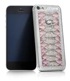 Роскошь белого золота! Телефоны ручной работы для тех, кто ценит стиль...