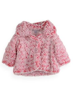 Fluffy marbled coat, this is so soft my daughter loves it. Pumpkin Patch