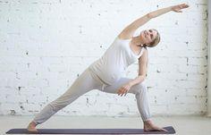 Utthita Parsvakonasana - Prenatal Yoga