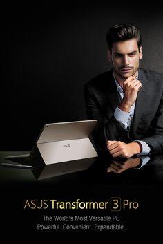 ASUS Transformer 3 Pro   T303   A fine, premium-grade beauty   A design of masterpiece!