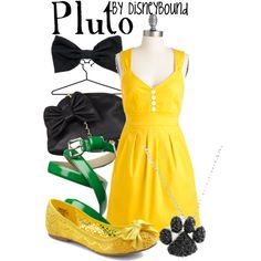 Pluto, created by lalakay on Polyvore