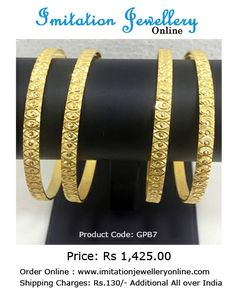 #Gold plated #Bangles