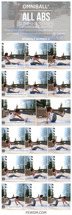 Strap OmniBall® to your feet to build core muscles in new ways! Workout in the Summer Series, All Abs. Yoga Fitness, Fitness Tips, Fitness Motivation, Health Fitness, Six Pack Abs Diet, Muscle Building Workouts, Flat Abs, Core Muscles, I Work Out