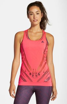 adidas CLIMACOOL® Perforated Racerback Tank | Nordstrom