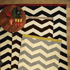 I love the Zigzag Rug on westelm.com