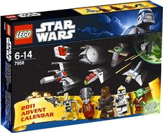 Every year I want to buy my boys each a Lego Advent Calendar.  Of course this year's Star Wars is the most tempting at all... every year I debate... one or two kits?  Same or different?  So far, I've never sprung the $40 for one... do I want it or do they?