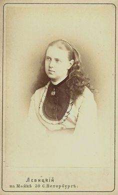 Maria Alexandrovna (1853-1920) Russia