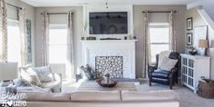 BEST BLOG AND IDEA I'VE SEEN IN A LONG TIME!  How to Build a Faux Fireplace and Mantel