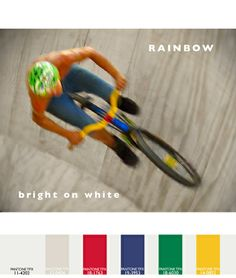 """Textile trends for the 2014-2015 fall and winter seasons in both fashion and home by Lenzing and MM Trends. """"Rainbow"""" trend."""