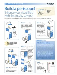 http://scienceillustrated.com.au/blog/in-the-mag/do-it-yourself-science-projects-make-a-periscope/