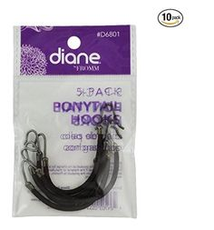 Diane Ponytail Hooks Brown - 50 pieces, Headband, hair claw, hair clips, rubber bands, hair styling, hair braid >>> Continue to the product at the image link.