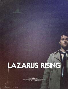 Lazarus Rising. My favourite episode so far