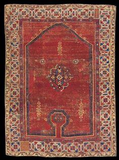 Wher Collection - Bellini prayer carpet, first half XVI century, Ottoman Turkey (Western Anatolia), Phildelphia Museum of Art, Philadelphia, 1988, p.78).