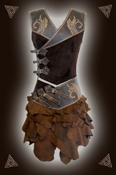 Galerien - Runa Rian - Bils The Best Forever Pin Moda Medieval, Medieval Dress, Medieval Clothing, Fantasy Armor, Fantasy Dress, Character Inspiration, Character Design, Viking Character, Viking Costume