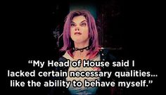 "When Tonks proved why she's everyone's fave. | 21 Badass Quotes From The Women Of ""Harry Potter"""