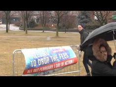 York University Students Camp Out to Protest High Tuition