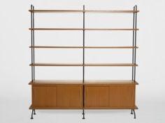 Midcentury- Bücherregal aus der Schweiz, 1950/60