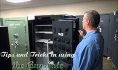 Tips and Tricks in using the Gun Safe