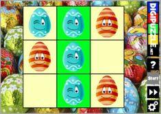 Easter Tic Tac Toe | Digipuzzle.net Easter Games, Tic Tac Toe