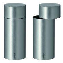 mono - exzentrik - Salz- und Pfeffermühle, 2er-Set Silbergrau H:11 Jetzt bestellen unter: http://www.woonio.de/p/mono-exzentrik-salz-und-pfeffermuehle-2er-set-silbergrau-h11/