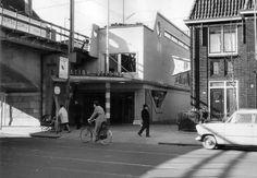Station Bergweg, omstreeks 1970..