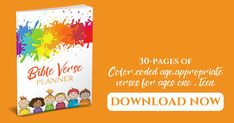 Help your children memorize scripture with color-coded age-appropriate Bible verses for ages ONE to TEEN. Free Bible, Bible Verses, How To Memorize Things, Youth, Teen, Children, Board, Color, Colour