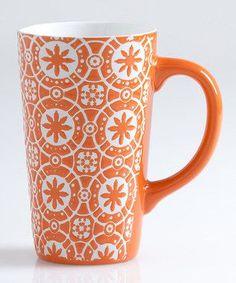 Orange Morroco mug
