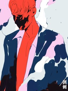 Rhodri, an art print by Mel Tow - INPRNT