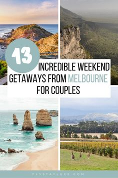 From Mornington Peninsula to the Great Ocean Road. These are some of the incredible weekend getaways Melbourne couples should add to their must-do list, all within 4 hours drive of the city! | best weekend trips from Melbourne | romantic getaways from Melbourne for couples | weekend away from Melbourne | Short getaways from Melbourne | Weekend escapes from Melbourne | best weekend trips in Victoria | romantic getaways in Victoria Australia Bali Travel Guide, Japan Travel Guide, Best Travel Guides, Travel Ideas, Travel Inspiration, Travel Tips, Couples Weekend Away, Weekend Getaways For Couples, Pacific Destinations