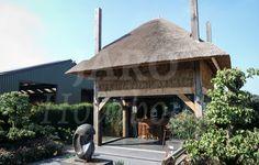 Eiken hooimijt, op maat gemaakt door Jaro Houtbouw
