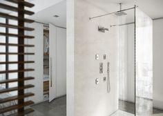 CALFLEX SRL- Linea Carimali AMBIENTE MINIMAL PER OTTIMIZZARE GLI SPAZI DELLA TUA CASA CON STILE E INTELLIGENZA Divider, Minimal, Shower, Room, Furniture, Home Decor, Environment, Home, Rain Shower Heads