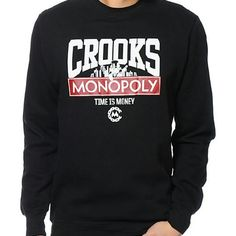 8723b7cb588 Crooks and Castle Sweatshirt Men s Gently used. Size L. Purchased from  Zumiez. Tops