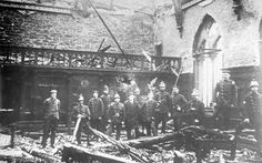 The Council Chamber in the Town Hall was completely gutted by fire on 27 March 1897, but was restored the following year.