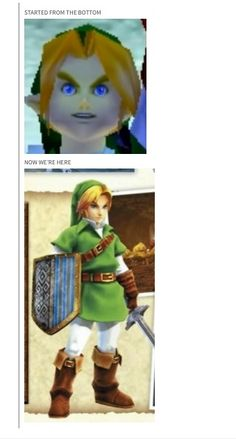 oot link in HW?! this game gets better and better by the day!!!!