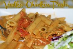 Weekly Meal Plan 160: Displaying Your Menu and Vodka Chicken Pasta