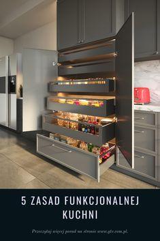 Kitchen Room Design, Modern Kitchen Design, Kitchen Interior, Kitchen Decor, Smart Kitchen, Small Kitchen Renovations, Kitchen Remodel, Kitchen Cupboard Doors, Kitchen Storage