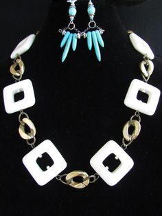 #125 Necklace and Earrings $71 - Shoppers