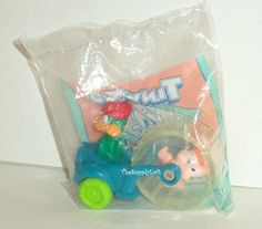 Sale Vintage Sealed 1992 Tiny Toon Adventures Plucky Duck Toy Figure McDonald's Happy Meal Toy Warner Brothers Collectible Gift