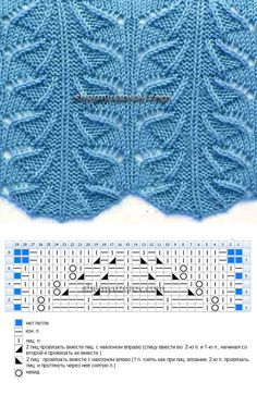 This Pin was discovered by JAN Lace Knitting Stitches, Crochet Stitches Patterns, Knitting Charts, Lace Patterns, Knitting Designs, Free Knitting, Baby Knitting, Stitch Patterns, Crochet Wool