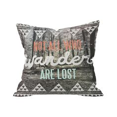 Free Spirits Outdoor Throw Pillow | dotandbo.com