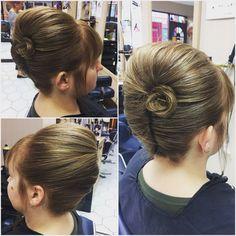 #bridalhair #promhair #hair #hairup #frenchpleat