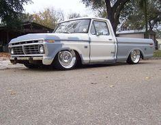Vintage Pickup Trucks, Classic Ford Trucks, Ford Pickup Trucks, New Trucks, Car Ford, Custom Trucks, Cool Trucks, Old Pickup, Old Ford Pickups