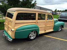 Ford woodie..Re-pin brought to you by #bestrate #CarInsurance at #HouseofInsurance Eugene