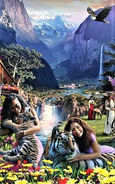Don't let time make you doubt what Jehovah God said will happen Life In Paradise, Paradise On Earth, Psalm 37, Jehovah Paradise, Paradise Pictures, All Things New, Bible Truth, Jehovah's Witnesses, The Kingdom Of God
