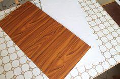 DIY; Fotohintergrund, basteln, Holz, Dekofolie, selbstklebende Folie