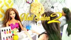 by request: Check out part 2 to of our Fabsome Doll Nail Salon, with our Awesome Manicure Station plus more goodies!! Support My Froggy Stuff on Patreon: htt...