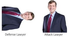 Defense Lawyer, Attack Lawyer